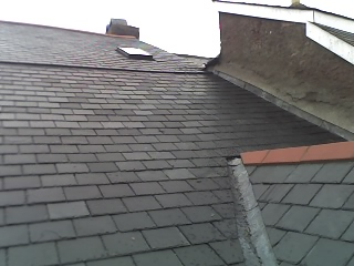 Roof with New Slates