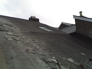 Old Slates on Roof