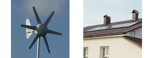 Green Energy Sources including Solar Panels and Wind Turbines: South Molton Roofing Limited, Devon